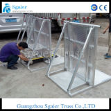 Event Barrier Concert Barrier pour câble Protector Go Through
