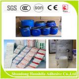Adhésif sensible à la pression à base d'eau pour l'étiquette