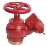 Válvula de bronze personalizada da boca de incêndio de fogo da qualidade (AV4062)