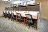 خشبيّة مكتب مركز عمل تصميم