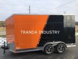 Novo 7X13 Customerized Enclosed Carhauler Cargo Trailer 10k Eixos