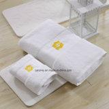 Полотенце руки полотенца ванны гостиницы Шангри-Ла хлопка с границей и рубчиком Dobby