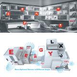 Indicatore luminoso di soffitto esterno di emergenza LED del corpo di alluminio di E-L36e