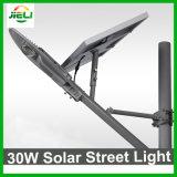 Gute Qualitätsim freien 30W PFEILER LED Solarstraßenlaterne