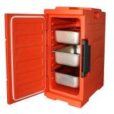 Rundes Hauptablagekasten-Plastikvakuum Isoliermittagessen-Kasten