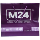 流行の習慣は印刷したショッピング(FLS-8203)のためのロープのハンドル袋を