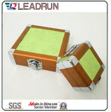 Caixa de ferramentas de alumínio Caixa de armazenamento de alumínio Trolley Travel Luggage Cosméticos Maquiagem Case Jóias Relógio Watch Carry Case (YS118)
