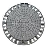 Ferro Ductile das BS En124 600 tampas de câmara de visita superiores contínuas do diâmetro para o mercado de Médio Oriente