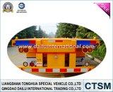 40FT Aanhangwagen van de Vrachtwagen van de Aanhangwagen van het Vervoer van de container de Skeletachtige Semi