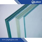 6.38-13.52mm Vidro laminado de segurança temperado claro ou colorido para construção arquitetônica