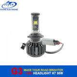H3 automatique du phare H1 du phare 6000lm 60W H7 DEL de la conformité DEL de RoHS de la CE 9005 9006 H4 H11