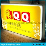 LED Light Box Publicidade Plastic Sucking
