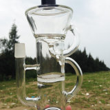 Wundervolles Doppeltes bereiten Entwurfs-rauchende Wasser-Glasrohre auf (ES-GB-263)