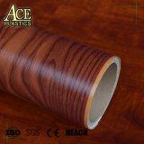 Brilhante de alta/Matte Textura de grãos de madeira de acondicionamento de vinil PVC/Película de cobertura de mobiliário