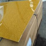 Feuille acrylique d'or de tissu pour la décoration