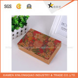 Kundenspezifischer Packpapier-Kasten Größebrown-