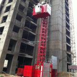Ascenseur de construction de capacité de la cage 2t de double de la CE de Hsjj à vendre