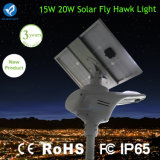 15W 2400-2700 루멘 운동 측정기를 가진 태양 에너지 램프 거리 정원 빛
