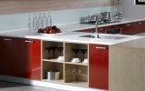 メラミンによって薄板にされる削片板の食器棚(zg-008)