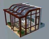 Espace libre/sûreté/isolation/stratifiée/glace de Sunroom, double glace de mur