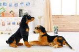 De pluche vulde Dierlijke Stuk speelgoed Gesimuleerde het Zitten Hond