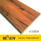La madera resistente al agua suelos de vinilo de enclavamiento WPC