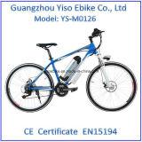Bicicleta de montanha elétrica barata com velocidade 7 Speed/21