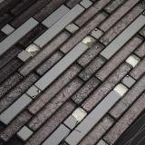 Bello mosaico di cristallo delle mattonelle del metallo della miscela del reticolo di fiore di disegno