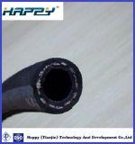 3/4 pouces fibre unique de la tresse de flexible hydraulique recouvert de caoutchouc