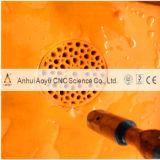 Cortador puro de couro do jato de água de 3 linhas centrais (CE)