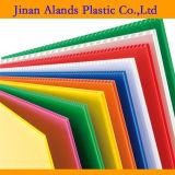 De kleurrijke Zwarte Golf Plastic Bladen van pp 4X8