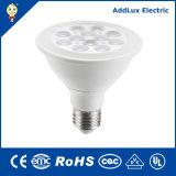 Saso 220 V UL CE E27 6W 9W Lumière COB à réflecteur LED pour le Shopping Mall, Hhotel, salle de réunion de l'éclairage