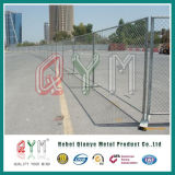 Cerco provisório da ligação Chain/cerca de aço provisória móvel da ligação Chain