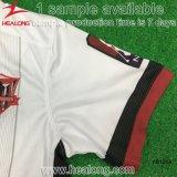 Pullover internazionale di gioco del calcio della casa/via di sublimazione dell'attrezzo di sport di Healong