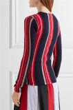 工場カスタムセーターの女性の縞のセーター