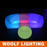 Silla del sofá del disco del club nocturno KTV de la iluminación del LED