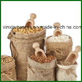 Kundenspezifischer Drawstring-Jutefaser-Beutel, Leinwand-Einkaufstasche, Hanftote-Beutel, Jutefaser-Beutel