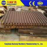 Zerkleinerungsmaschine-Abnützung zerteilt hohe Mangan-Stahlgußteil-Kiefer-Platte
