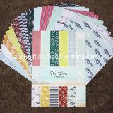 Papel decorativo del diseñador del libro de recuerdos del cuaderno A4 A5 DIY