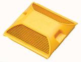 Пластиковые шпильки дорожного движения желтого цвета