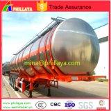 3Água alimentar de alumínio do eixo do leite do tanque petroleiro semi reboque