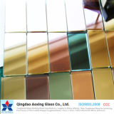 color de 4-12m m/vidrio reflexivo endurecido claro para el edificio/la ventana