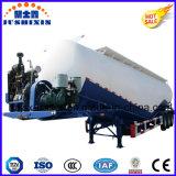 reboque maioria material do tanque do pó da baixa densidade 38-73cbm