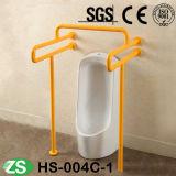 Staven van de Greep van de Veiligheid van de Trede van pvc van het Toilet van de handicap de Nylon voor Bejaarden