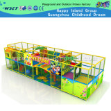 Castillo travieso de interior con el patio de interior de la diapositiva plástica (MH-05608)