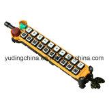 Treuil lourd F21-20d à télécommande sans fil de levage de matériau de construction de câble métallique de grue de Hy