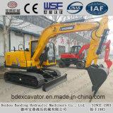Excavatrices de chenille de machines de Baoding avec l'engine de Yanmar
