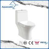 Siphonic One Piece Dual Flush Toilet In White (ACT6385)