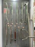 Puxador de porta em Preto Mate de volta para trás Entrada Puxadores
