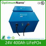Batterij van de Cyclus LiFePO4 van Optimumnano de Diepe 24V (5Ah-400Ah)